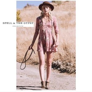 Spell & The Gypsy Collective Dresses - Spell & the Gypsy Collective Rosa 90s Dress Blush